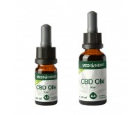 CBD Olie Raw (Medihemp) 2,5% CBD ~250mg 10ml